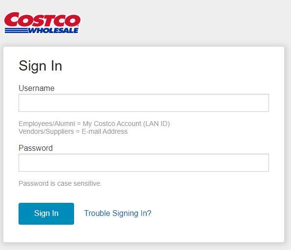 Costco Employee Website Login