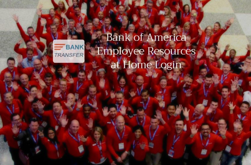 Bank of America Employee Resources at HOme