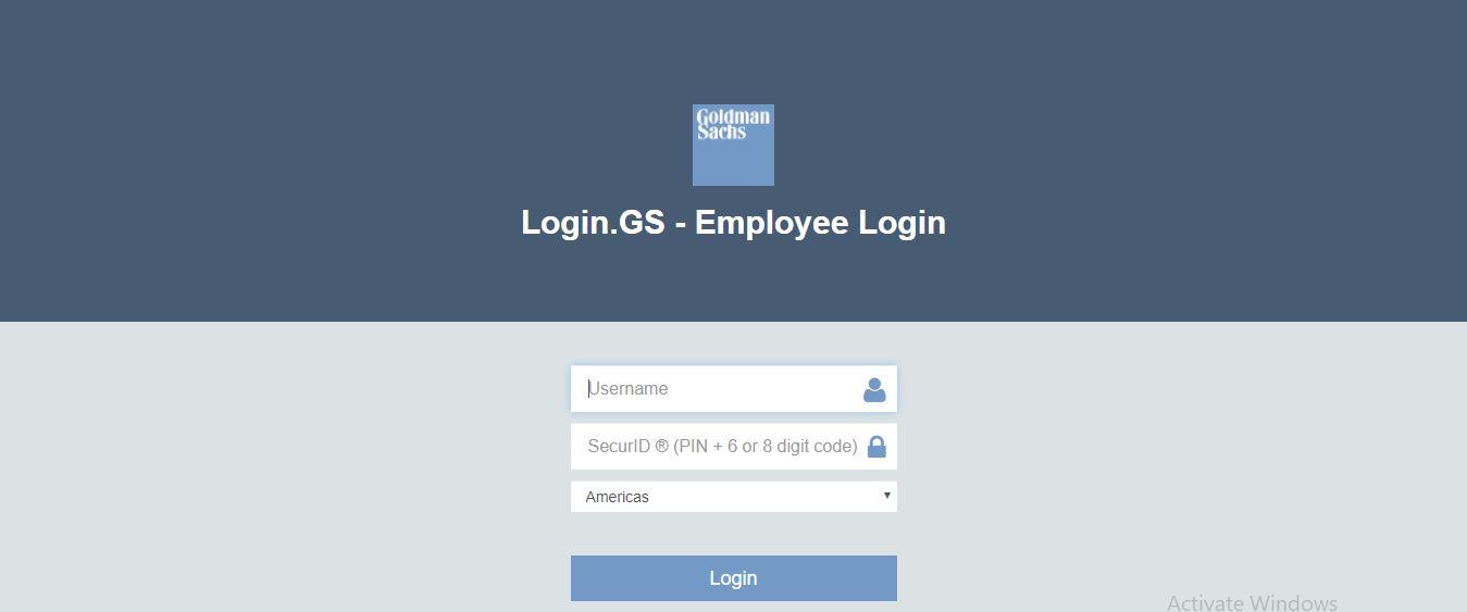 Goldman Sachs Employee Benefits Login