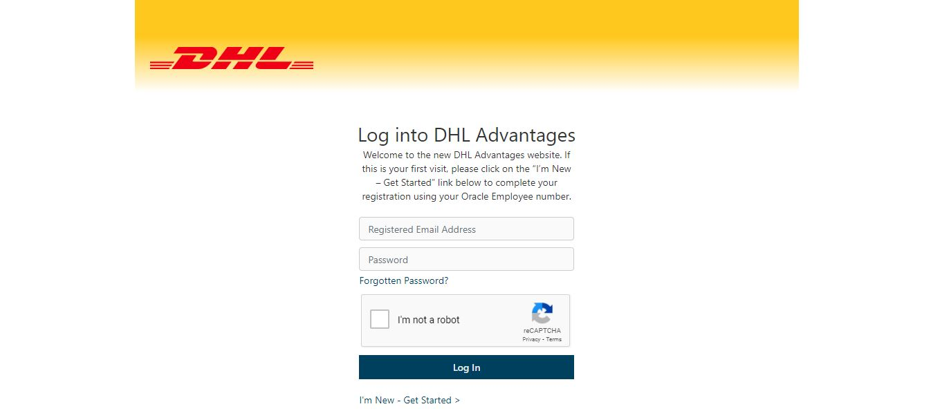 DHL Advantage Employee Login