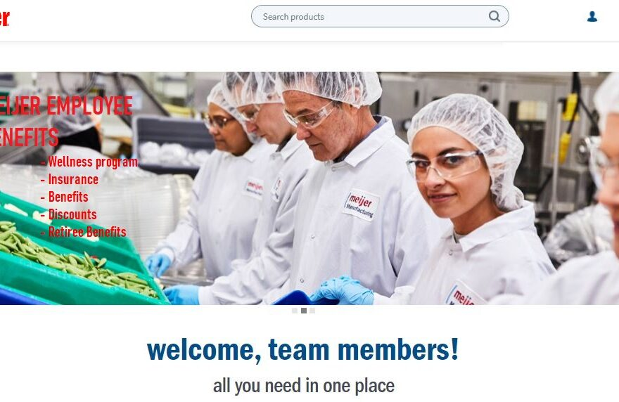 Meijer Employee Benefits Login